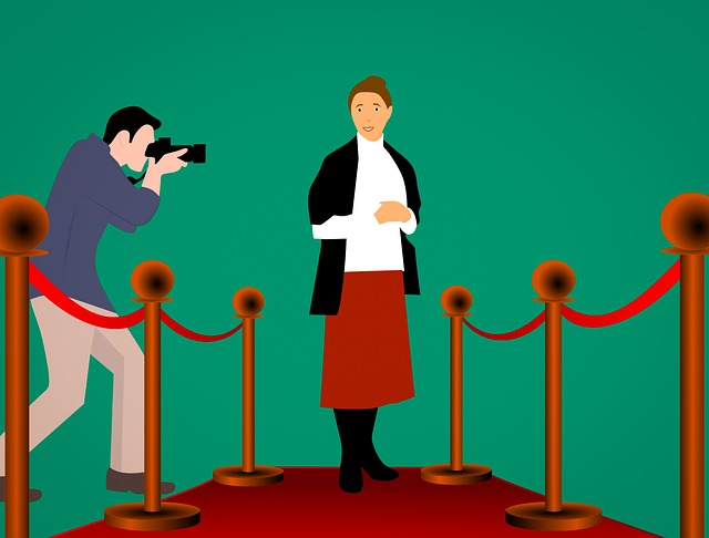 celebrity stars in their own right on red carped